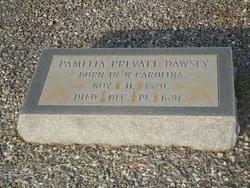 Permelia <i>Prevatt</i> DAWSEY
