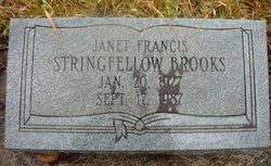 Janet Francis <i>Stringfellow</i> Brooks
