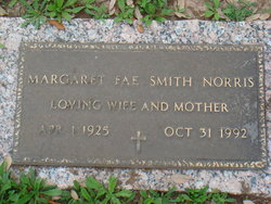 Margaret Fae Mornie <i>Smith</i> Norris