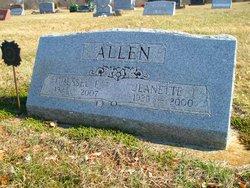 Jeanette I <i>Thompson</i> Allen