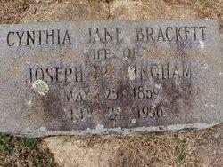 Cynthia Jane <i>Brackett</i> Bingham