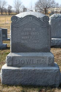 Mary A <i>Parker</i> Bowles