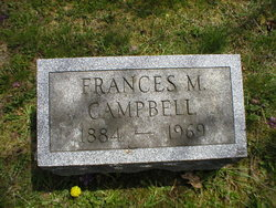 Frances Mary <i>Russell</i> Campbell