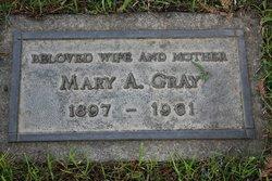 Mary Agnes <i>Gruber</i> Gray