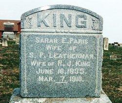 Sarah Ellen <i>Paris</i> King
