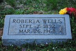 Roberta Birdie <i>Wells</i> Wells