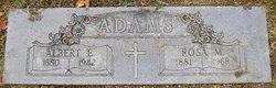 Albert E Adams