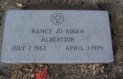 Nancy Jo <i>Rosen</i> Albertson