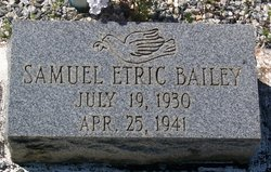 Samuel Etric Bailey