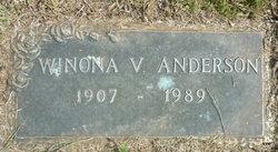 Winona V Anderson
