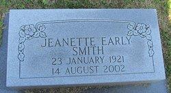 Jeanette Earley Smith
