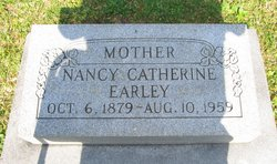 Nancy Catherine <i>Dilday</i> Earley