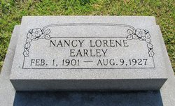 Nancy Lorene Earley