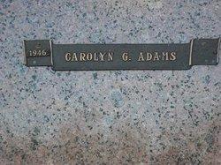Carolyn G. Adams