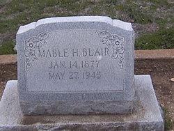 Mable H. Blair