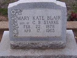 Mary Kate <i>Blair</i> Starke