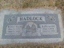 Billie Jean <i>Boyd</i> Hadlock