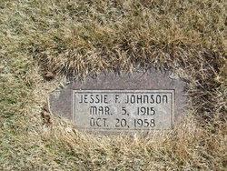 Jessie F Johnson