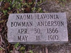 Naomi Lavonia <i>Bowman</i> Anderson