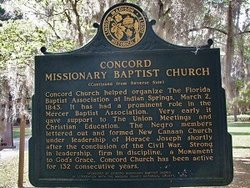 Concord Missionary Baptist Church Cemetery