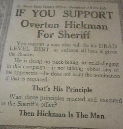 Overton Doc Hickman