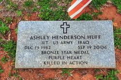 Lieut Ashley Laine <i>Henderson</i> Huff