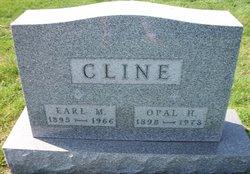 Opal M <i>Haymond</i> Cline