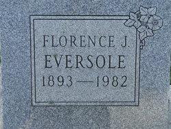 Florence Justina <i>Horner</i> Smith Eversole