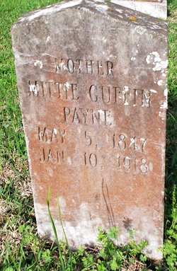 Mittie <i>Guffin</i> Payne