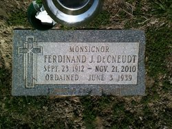 Rev Ferdinand J. DeCneudt
