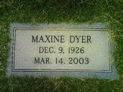 Maxine <i>Duncan</i> Dyer