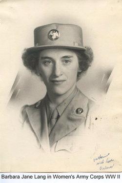 PFC Barbara Jane Goodman