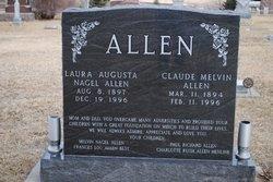 Laura Augusta <i>Nagel</i> Allen