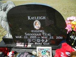 Kayleigh Savannah Eugene Teal