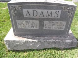 Tempa Tempie <i>Shumate</i> Adams