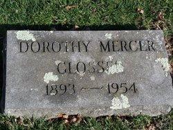 Dorothy <i>Mercer</i> Glosser