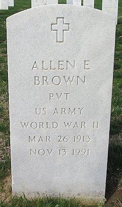 Allen E Brown
