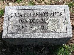 Cora <i>Bohannon</i> Allen