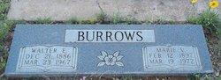 Walter E Burrows