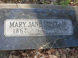 Mary Jane Jennie <i>Dickhaut</i> Sinclair