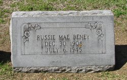 Russie Mae <i>Miller</i> Beney
