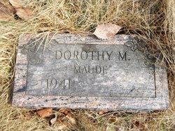Dorothy M Maude Knapp