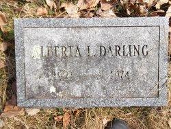Alberta L Darling
