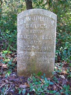 Benjamin W. Barnes
