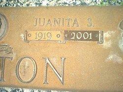 Mable Juanita <i>Simpson</i> Blanton