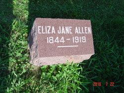 Eliza Jane <i>McKee</i> Allen