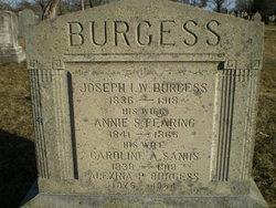 Joseph I. W. Burgess
