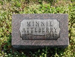 Minnie M. <i>Renfrow</i> Atteberry