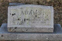 Florence <i>Cady</i> Adams