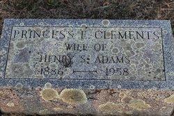 Princess E <i>Clements</i> Adams